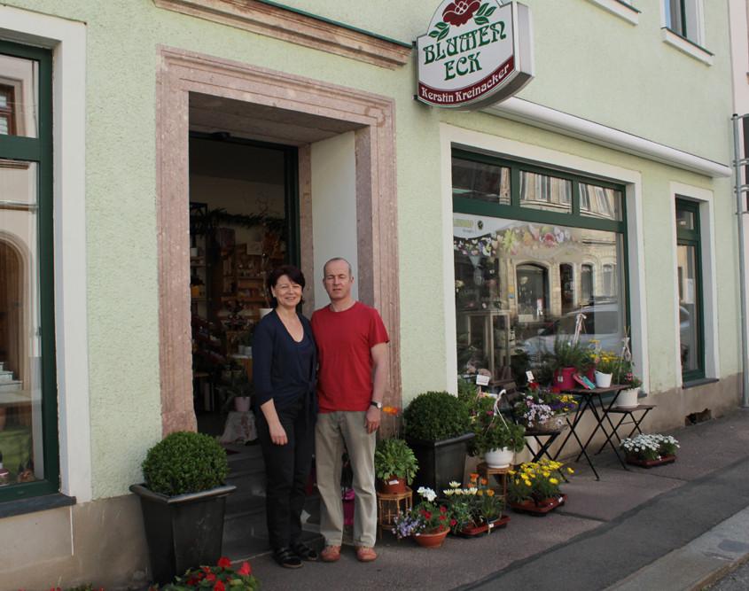 Blumeneck Kreinacker Ladengeschäft Hainichen