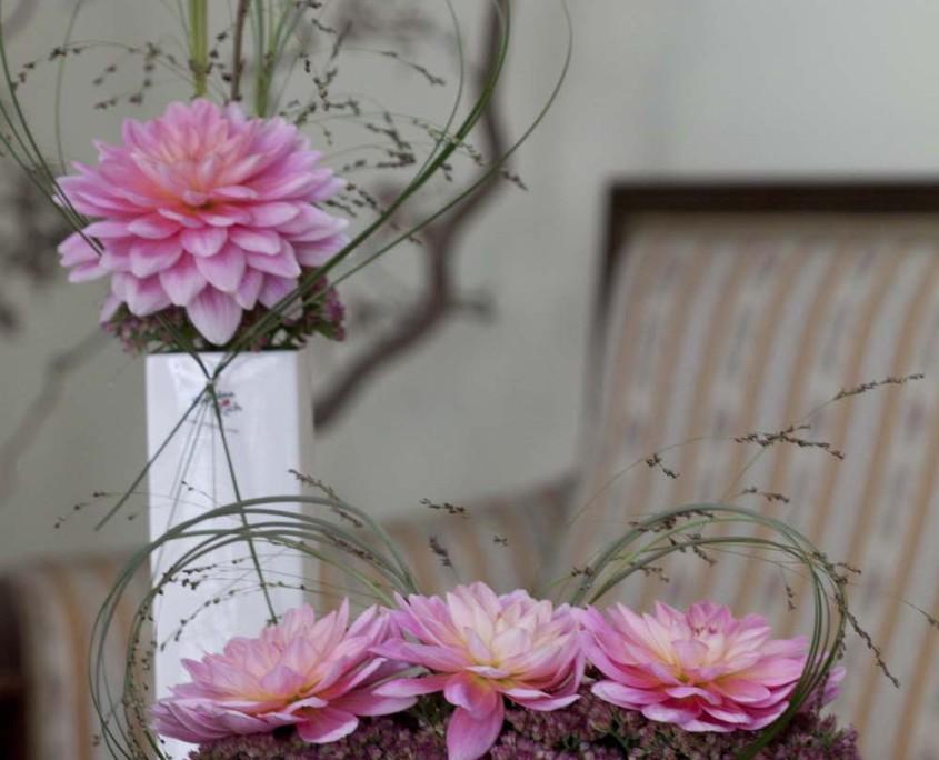 Tafelschmuck Dahlie, rosa