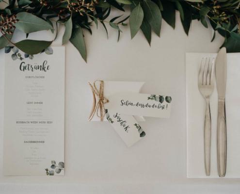 Hochzeitsfloristik Tischschmuck, Blumeneck Kreinacker Hainichen, Foto David Seising
